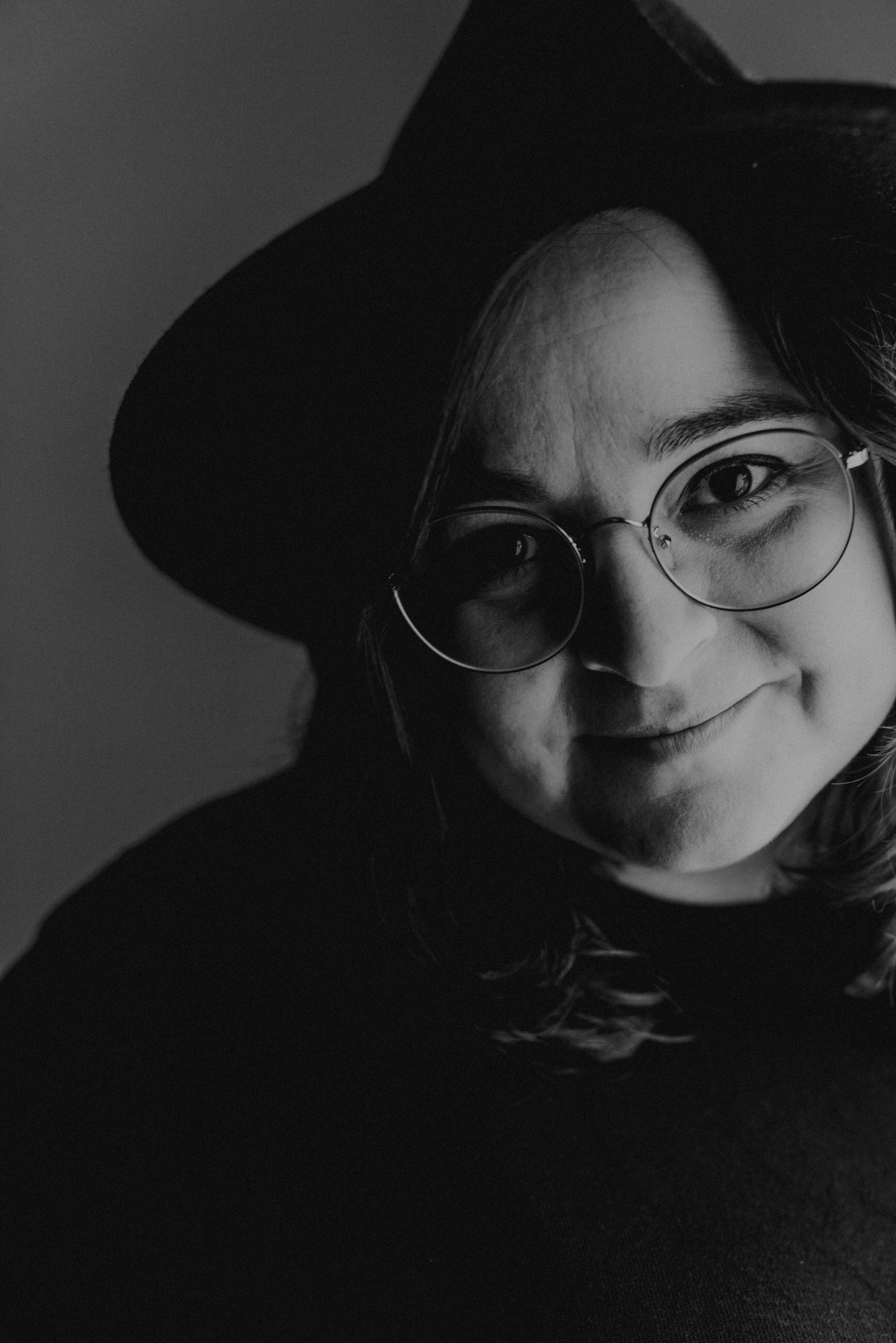 Retrato María Espinosa fotógrafa